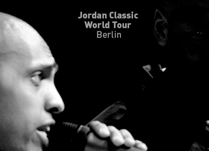 Moderation Jordan Classic Worldtour Berlin